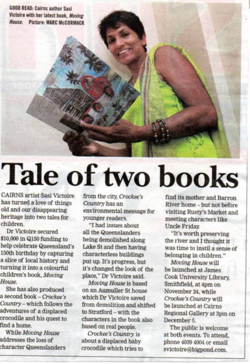 Books Launch December 2009- Cairns Post